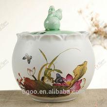 TG-409J234-WG-W-1 wholesale glass jars 1209 with CE certificate pp jar 500ml