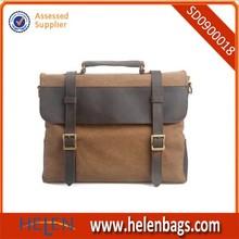Canvas Messenger Bag Fit Laptop Bags