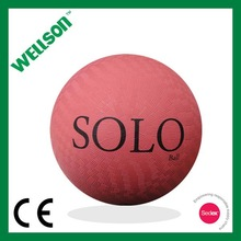 Branded rubber playground ball