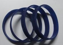 fashional promotional gift of debossed silicone bracelet