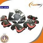 skull motor cross bike helmet with protective pad