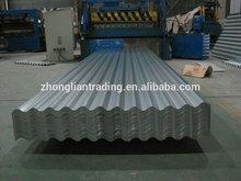 0.14 mm Z80 tole ondulee GI roofing sheet