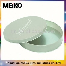 metal round cookie tins box