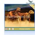 eğlence yaşam boyutu ile yürüyüş dinozor kostümü