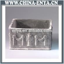 Made in china outdoor/indoor decorative metal vase