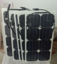Hot sell low price light weight 25w flexible solar panel for RV / Boats