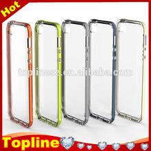 Transparent shine lightning glitter Luminous Called Sense LED Flash Light case cover for iPhone 6 4.7 inch