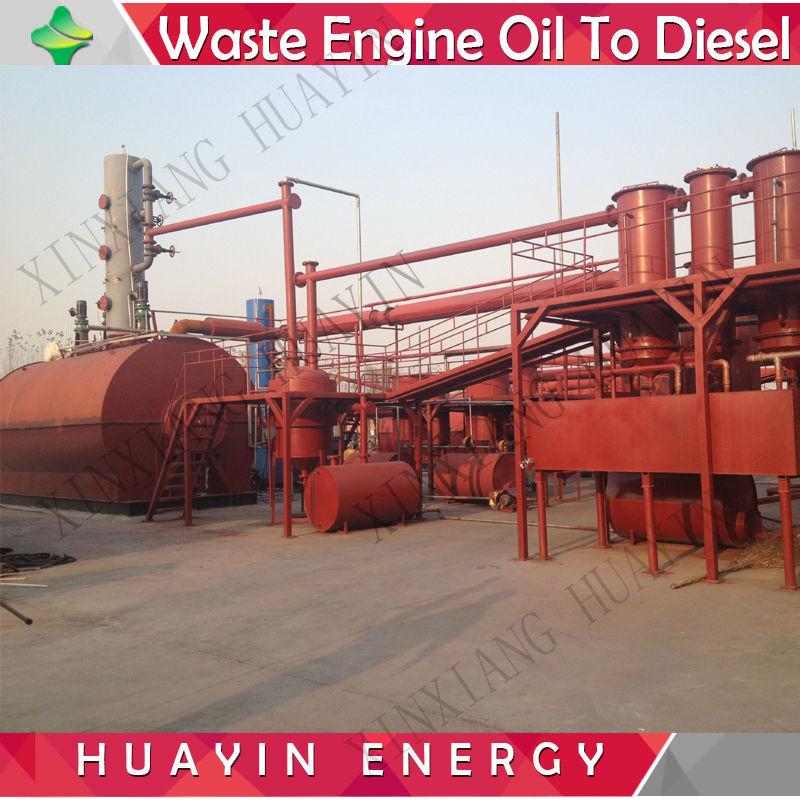 Waste Oil Waste Oil Filter System