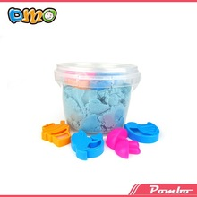 New style Blue color magic modeling color sand