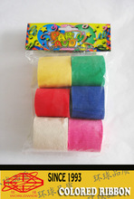newly popular,China hot sale,party use, crepe paper ribbons