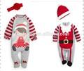 มาถึงใหม่ขายส่งเสื้อผ้าเด็กทารกเสื้อคลุมหลวมๆฝ้ายเด็กหญิงและเด็กชายคริสต์มาสฉุกเฉิน