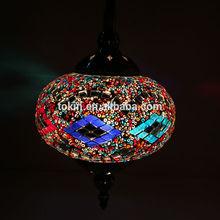 2015 NEW desigh handmade home decor mosaic lamp turkey (CC1L01) Made in China