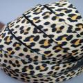 Sexy leopardo jacquard de poliéster de nylon do webbing fita para no_pull do treinamento do cão do pacote