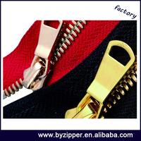 stainless steel zipper