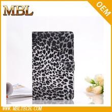 Leopard Animal Print PU Leather Wallet Case for iPad mini