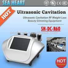 Beijing manufacturer portable 4 in 1 ultrasonic rf slimming cavitation beauty machine