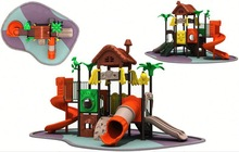 manufacturer newest full color top sale coconut tree playground equipment outdoor