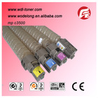 color toner cartridge, compatible mpc 3500 toner cartridge for use in MPC3500/4500