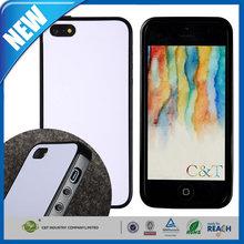 C&T Innovative pure color pc back tpu bumper soft mobile phone tpu case for iphone5