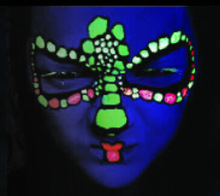 Popular Neon/UV/Fluorescent Body Paint for Party Fun