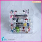 Hot Sale Acrylic Clear Drawer Large Acrylic Makeup Organizer
