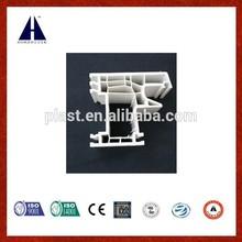 Huazhijie upvc door and window frame for 70 casement