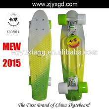 Faded Vinyl Retro Plastic deck fish Bantam banana cruiser mini penny board skateboard