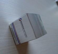 Metallic paper packaging box with CMYK printing