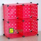 Modular Cube Storage, pink