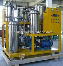 Coco equipos de filtración de aceite / aceite de cocina usado refinería de petróleo planta
