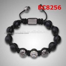 Alibaba united states flag bracelet bead bracelet shining crystal shamballa bracelet