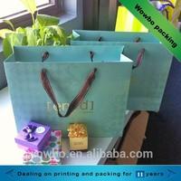Fancy design elegant custom made hot stamping creative bag for clothes