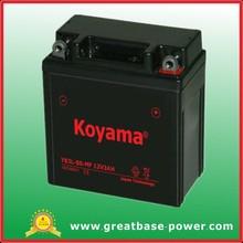 12v 3ah YB3L-BS maintenance free MOTORCYCLE battery gel battery sealed battery