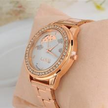 2015 New Sky Watches Fashion Rose golden women Watch High Quality Girls Wristwatch SW1704