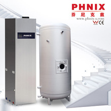 Using free renewable energy from the air household heat pump water heater
