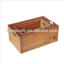 2015 antique wood color wooden crates