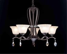 UL listed modern satin nickle finishing chandelier