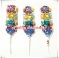 la pectine et base de gélatine halal doux soft jelly candy pop avec la conception de poisson