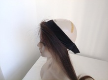 Elastic European Hair Jewish Wig Lace Band With Hair