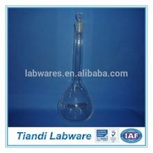 Volumetric Flask Grade B Neutral Glass with Ground-in Glass Stopper, Laboratory Glassware
