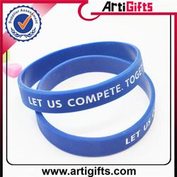 cheap eco souvenirs custom wristbands artigifts silicone manufacturer