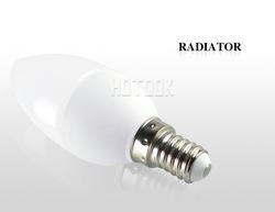E14 3W Warm White 3 LED Energy Saving Candle Light Bulb