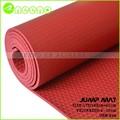 Caliente de pvc de yoga ecológica esteras/alfombrillas gimnasio para la venta