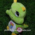 piacevole peluche verde dinosauro peluche mascotte