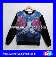 Sublimation printed hoodies cool custom sublimation hoodies /sweatshirts