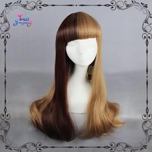 Super sweet dark and light brown lolita costumes wigs