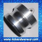 Aluminium Camlock coupling, male adapter ,dust plug