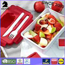 Hot selling microwave BPA Free plastic food container
