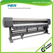 3.2m 1440dpi inkjet printer, eco solvent printer dx5 print head