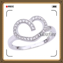 Wholesale white gold plated 925 sterling silver my style jewelry